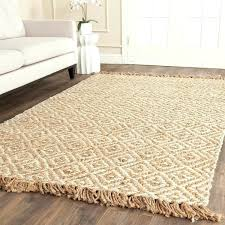 ft round jute rug casual natural fiber hand woven sisal style 5 soft 5x8