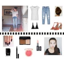 height makeupbymandy24 maddi bragg chaîne a fashion look from july 2017 featuring cap sleeve top low