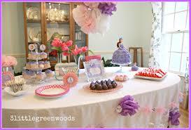 interior design simple birthday princess theme decoration room