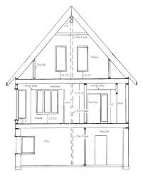 Open front door drawing Png Drawing Cross Sections Step Design Your Own House Plans How To Draw House Cross Sections
