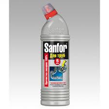 <b>Чистящее средство</b> для труб <b>Санфор</b> 750мл <b>5</b> минут, для ...
