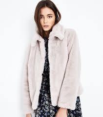 new look faux fur trim parka coat khaki women s jackets is12pji7