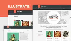 art portfolio template 20 beautiful portfolio website templates for artists idevie