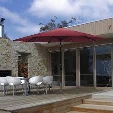 phi villa 10 ft patio umbrella with solar lights