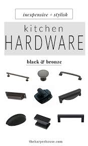 Farmhouse Kitchen Hardware Kitchen Hardware 27 Budget Friendly Options The Harper House