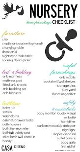 list of items needed for baby baby nursery decor checklist baby nursery items list classic