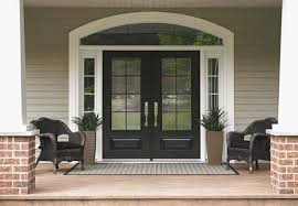 black front door with sidelightsModern Concept Painted Double Front Door With Black Front Doors