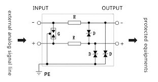 surge protection device wiring diagram surge image analog signal surge protective devices spd for data sampling 2 on surge protection device wiring diagram