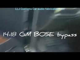 2014 Gm Bose Wiring Diagram Headlight Switch Wiring Diagram