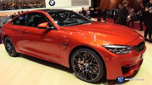 2018 bmw m4. beautiful 2018 2018 bmw m4 coupe  exterior and interior walkaround debut 2017 geneva  motor show to bmw m4