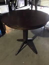 details about round wood tables 6 counter height restaurant