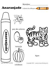 Small Picture 7 best Worksheets images on Pinterest Elementary spanish