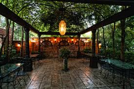 Small Picture Lawn Garden Spanish Courtyard Design With Metal Pergola Also