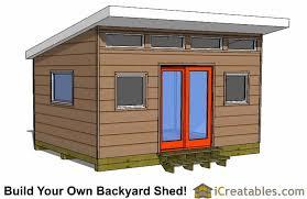 diy garden office plans. Plain Diy Modern Shed Plans  DIY Office Studio Designs With Diy Garden