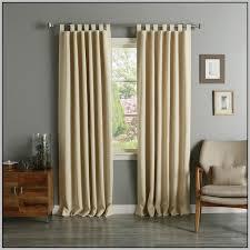 cotton tab top curtains natural