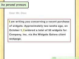 Proper Business Letter Format Salutation Proper Business Letter
