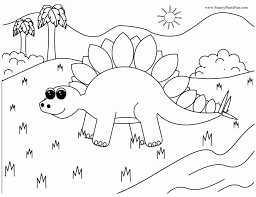 Small Picture Cute Dinosaur Coloring Pages Coloring Home