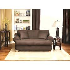2 piece t cushion sofa slipcover sure fit stretch stripe covers