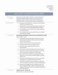 Media Researcher Sample Resume Download Social Media Coordinator