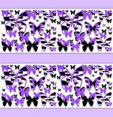 purple animal print wallpaper. Perfect Wallpaper Image Is Loading PurpleZebraAnimalPrintButterflyWallpaperBorderWall In Purple Animal Print Wallpaper