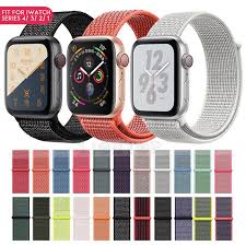 <b>Nylon</b> Woven Sport Loop Браслет Часы Полоса <b>Ремешок Apple</b> ...