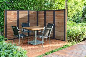 2x6 framed fence panels outdoor