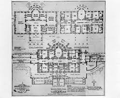 Truman Library Photograph  White House floor plan White House floor plan