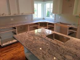 White Ice Granite Kitchen Kitchen Countertops Valley Granite Products