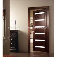 Attractive Latest Modern Wood Door Design Pictures/ Main Door Grill Design With Glass  Solid Wood Or