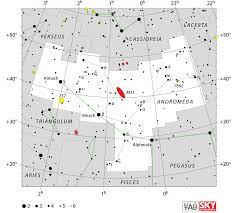 Sky Maps Star Chart Andromeda Constellation Map Constellation Guide