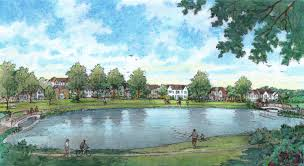 development begins at meadowbrook park news looney ricks kiss development begins at meadowbrook park