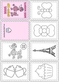Mini Coloring Books Printable Special Offer Pages Free Amazing
