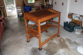 awesome standing desk woodworking plans woodworking projects amp plans