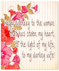 Birthday Quotes For Wife Impressive Birthday Wishes For Wife Romantic And Passionate Birthday Messages