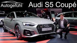Audi <b>S5</b> Coupé REVIEW <b>new</b> Audi A5 Facelift Exterior Interior <b>2020</b> ...