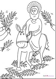 Easter Coloring Pages For Sunday School Preschool With Religious