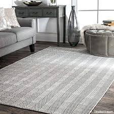 flat woven area rugs hand loomed herringbone cotton flat woven area rugs 6 x 9 grey