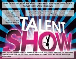 Talent Show Poster Designs