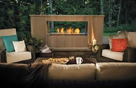 model gss48 galaxy outdoor fireplace from napoleon fireplaces