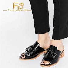 black patent leather loafer mules open toe tassel loafers for women fashion generous incomparable black friday noble fsj y