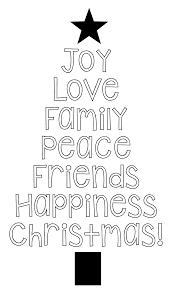 printable christmas tree word art pillow idea christmastree