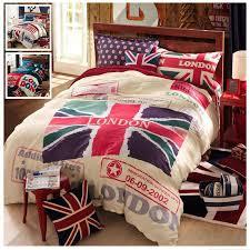 uk flag bedding set usk flag bedding set good quailty english bedding set american flag duvet cover bed linen king size duvets blue duvet covers from