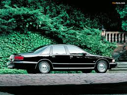 1993 Chevrolet Caprice - Information and photos - MOMENTcar