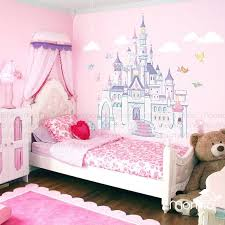 Disney Princess Castle with Colorful Birds and Squirrel-Large Wall  Sticker,Kids Room Bedroom