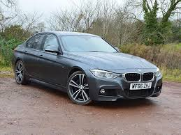 BMW 3 Series bmw 3 series advert : Black Dakota leather interior Metallic Mineral Grey £24940 Grey 2016