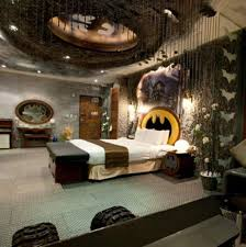 Tips To Remodeling Your Own Bat Cave With Cool Batman Bedroom Set Magnificent Themes For Bedrooms Set Property