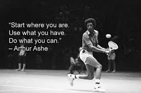 Romantic Love Quotes For You 40 Inspirational Arthur Ashe Quotes Interesting Arthur Ashe Quotes