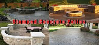Stamped Concrete Nh Ma Me Decorative Patio Pool Deck Walkwaynh