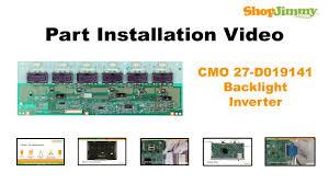 tv backlight inverter board. lcd tv repair easy cmo 27-d019141 backlight inverter boards replacement guide tv board t