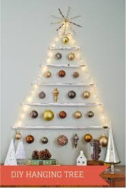 Wall Xmas Decorations Best 20 Hanging Christmas Tree Ideas On Pinterest Hanging